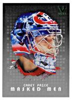 2015-16 Carey Price ITG Final Vault 2008-09 Masked Men - Montreal Canadiens