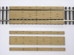 HO Scale ** Laser Cut ** Custom Double Lane Crossing  ~ 2 Pack