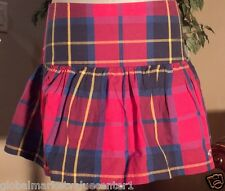 Hollister By Abercrombie & Fitch Checkered Plaid Blue Pink Purple Mini Skirt 5