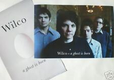 "WILCO ""GHOST IS BORN"" 2-SIDED U.S. POSTER-CHICAGO ROCKS"