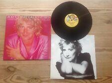 ROD STEWART GREATEST HITS 1979 UK VINYL LP +HARD CARD INNER PICTURE SLEEVE NM/NM