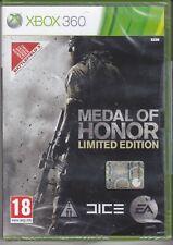 Xbox 360 MEDAL OF HONOR LIMITED EDITION nuovo sigillato italiano pal 2010