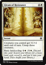 4x 4 x Gleam of Resistance x4 COMMON Conspiracy Take the Crown MTG MINT UNPLAYED