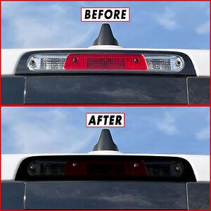 FOR 19-21 Dodge Ram 1500 Third Brake Light SMOKE Precut Vinyl Tint Overlay