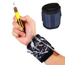 New Magnetic Wristband Pocket Tool Belt Pouch Bag Screw Holder Working Carpenter