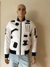 The New Designers by Alexander Pap Bomber Jacket White Size L