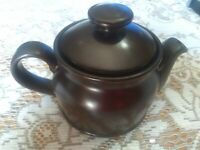 Beautiful brown  ROYAL DOULTON 2 cup AFRICA Teapot Tea Pot Made in England