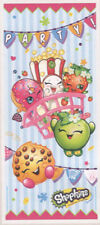 SHOPKINS scene setter party wall decor PHOTO BACKDROP grocery pals door cover
