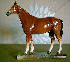 ROYAL DOULTON HORSE MERELY A MINOR MODEL No HN 2567 SMALL BROWN GLOSS RARE