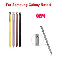 New OEM Stylus S Pen For Samsung Galaxy Note 9 N960 Black Brown Purple Yellow