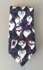 Warner Bros. Vintage Men's Collectible Looney Tunes Tie Taz Manian Devil 1998