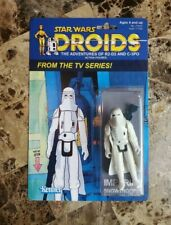 Imperial Snowtrooper 1985 DROIDS Series STAR WARS Custom Made Card MOC