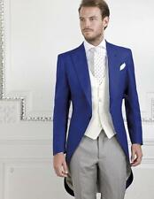 New Design Men's Wedding Suits Groom Tuxedos Best Man Suits Formal Morning Suits