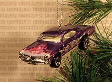 CHINESE DRAGON 1967 PONTIAC GTO '67 PURPLE CHRISTMAS ORNAMENT XMAS