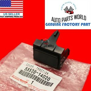NEW GENUINE OEM TOYOTA 1993-1998 SUPRA JZA80 SPARE SWITCH HOLE COVER 55538-14020
