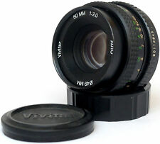Auto Vivitar 50mm F2 Lens For Pentax K Mount! Read!