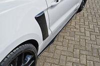 CUP 2 Seitenschweller Schweller Sideskirts aus ABS für Ford Mustang GT mit ABE