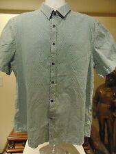 English Laundry Men's Polka dot 3-D Short Shirt  2XL