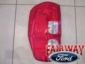 19 thru 20 Ranger OEM Ford LEFT DRIVER Tail Lamp Light Halogen without BLIS
