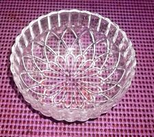 "KIG INDONESIA - Scalloped Rim with Unique Geometric Pattern bowl 5"" WIDE"