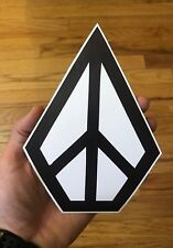 Volcom Stone New Large Sticker 5x7 Skate Snowboard Surf Car Vinyl Decal