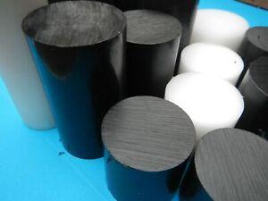 round Acetal delrin Rod Black White billet bar end 50mm 60mm 70mm 80mm 90mm 100