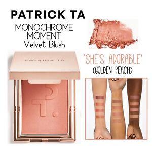 PATRICK TA Monochrome Moment Velvet Blush-She's Adorable