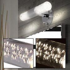 LED Bad Flur Spiegel Wand Lampe mit Schalter 2x3W Beleuchtung 30cm Rohr Leuchte