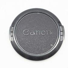Vintage Canon Pinch On Lens Cap 52mm Front Lens Cover