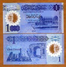 Libya, 1 Dinar, 2019, P-New, Polymer, UNC > New Design