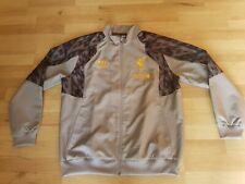 Liverpool FC Warrior Standard Chartered Rain Jacket Coat Fleece L-XL *Free P&P*