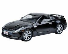 1:24 2008 Nissan GTR (Black) - Motor Max Diecast Model Car 73384