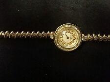 Dress vintage women's rolex winding watch 14k gold dimond custom bezel end band