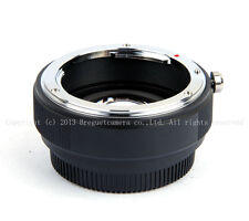 Mitakon Lens Turbo Focal Reducer Adapter Canon EOS EF to m43 MFT Olympus Camera