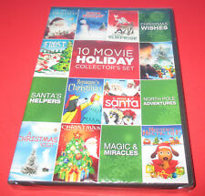 10 Film Holiday Collectors Set (DVD, 2011 ) Animation NEW SEALED- SHIPS FAST!