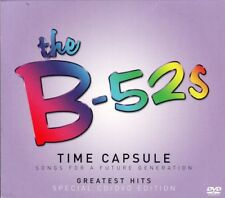 B-52'S TIME CAPSULE Songs For a Future generation CD & DVD ALL REGIONS NTSC NEW