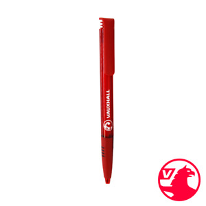 Red Supersoft Clear Pen