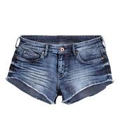 "H&M Denim  Hot Pants /  Kurze Jeansshorts  Gr.34 - 44  Stretch ""2 Farben"" *NEU!*"