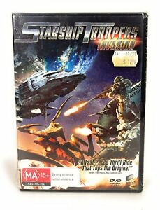 Starship Troopers Invasion (DVD, 2012) New & Sealed Region 4 Free Postage
