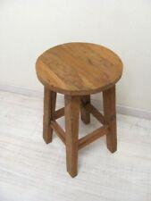 kleiner Hocker, Teak-massiv Vintage-Bank Möbel von Antik-Lux