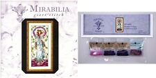 Mirabilia Cross Stitch Chart with Embellishment Pack ~ BLOSSOM GODDESS #146 Sale