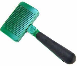 "LM Safari Self Cleaning Slicker Brush Medium Dogs - 7.5"" Long x 4"" Wide"