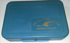 Collectibles,Fishing,Fly Fishing,Fly Box,The Flyfisher's Place,Sisters,Or,Blue