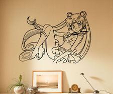 Sailor Moon Wall Decal Vinyl Sticker Japanese manga Removable Art Decor 76(nse)