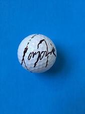 Tony Finau Signed Nike 20XI Practice Golf Ball PGA Masters Ryder Cup