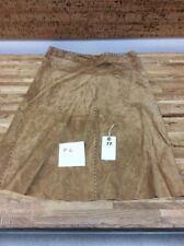 ARDEN B 100% LEATHER SKIRT SIZE 2 NEW P-6