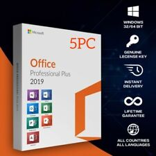 Microsoft Office 2019 Professional Plus Pre-Activated Lifetime Instant delivery