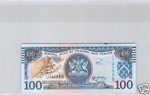 Trinidad Y Tobago $100 Dólares 2006 N º LA786858 Pick 51