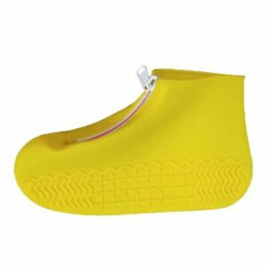 Men Rubber Shoes Cover Waterproof Non Slip Silicone Boots Rain Covers Reusable