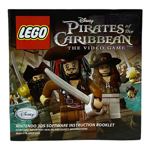 LEGO Pirates of the Caribbean Nintendo 3DS PAL - Genuine Manual - *Booklet Only*